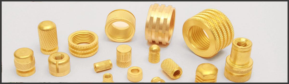 First Brass Parts India Brass Inserts