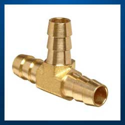 Brass Hose Tee Connections