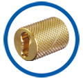 Brass Key Hole Anchors