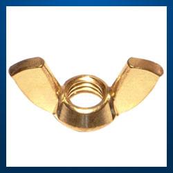Brass Wing Nuts Brass Nuts brass parts
