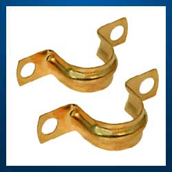Brass Pipe Clamps Brass Saddles Pipe Clamp