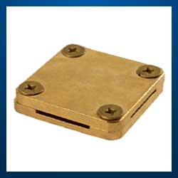 Brass Square Tape Clamps