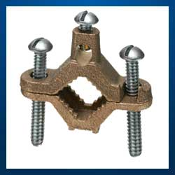 Bronze Water Pipe Ground Clamps