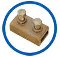 Copper Oblong Test Clamps