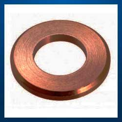 Machined Copper Washers Copper flat washer Copper Washer Din 7603 Brass Washers Copper washers DIn 125 Din 126 washers Machined Washer Manufacturer from Mumbai and Jamnagar