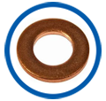 Machined Copper Washers