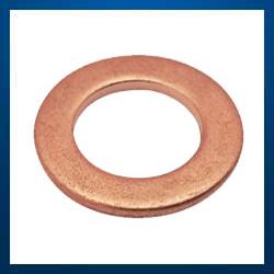 Metric Washers in Brass Copper