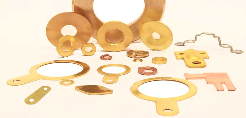 Pressed Parts in Brass Brass Pressed Components Sheet Metal Components Brass Copper Pressings Press Parts
