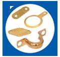Pressed Parts in Brass