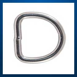 Stainless Steel D Rings