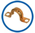 Brass Pipe Clamps Copper Pipe Clamps Brass Parts Copper Parts Components Jamnagar India